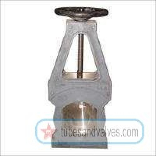 Mm or quot ci cast iron pulp valve knife egde gate