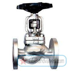 """50mm or 2"""" NB LEADER CS GLOBE VALVE CAST STEEL BODY SS TRIM FLANGED END TO PN 40"""